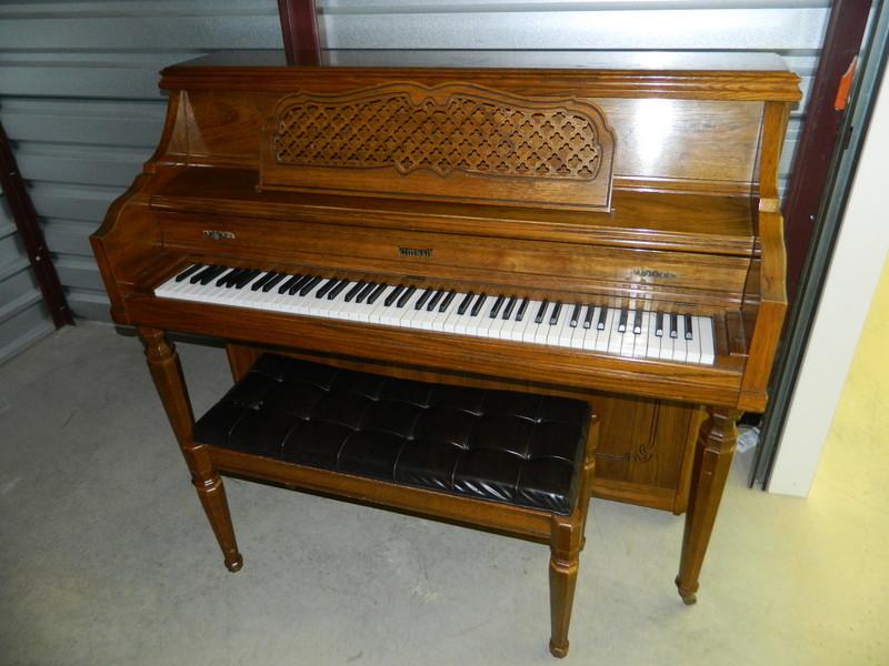 Augusta Music Box Kimball Console Piano